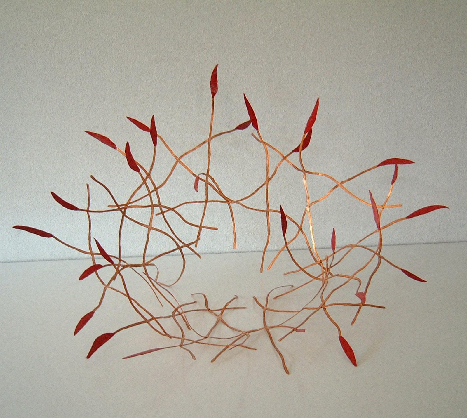 60 x 45 x 30 cm<br>eucalyptus, copper
